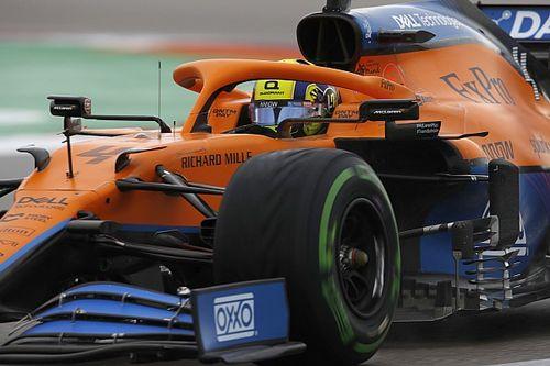 俄罗斯大奖赛排位赛:诺里斯首次摘杆位,梅赛德斯阴沟翻船