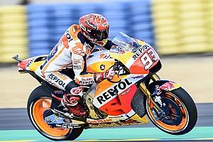 MotoGP Отчет о тренировке Маркес стал быстрейшим на разминке в Ле-Мане