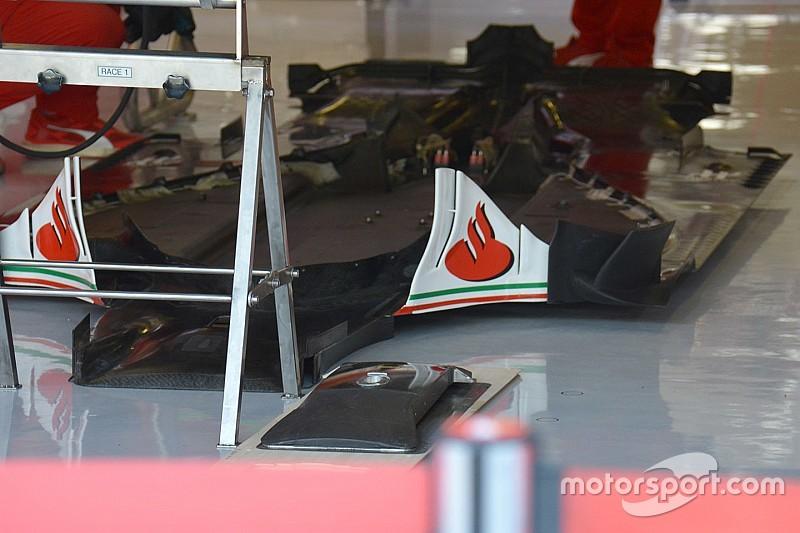 Ferrari SF16-H: è tutta una questione di... fondo
