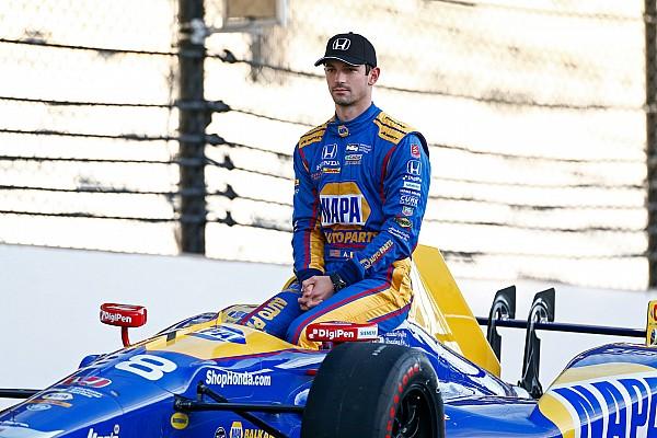 IndyCar Entrevista Alexander Rossi no siente presión por defender su victoria en Indy 500