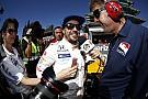 IndyCar Alonso: Aşırı güç ilk çizgiyi kaybetmeme neden oldu
