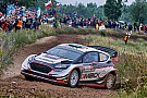 Poland WRC: Evans leads Neuville in Thursday superspecial