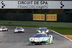 Blancpain Endurance Race report Spa 24 Hours: Fisichella Ferrari leads after six hours