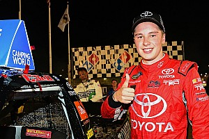 NASCAR Truck Interview Rookie Bell in title fight: