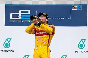 FIA F2 比赛报告 GP2马来西亚主赛:吉奥维纳兹赢下主赛,积分榜反超加斯利