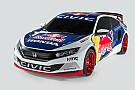 Civic Coupe gains approval for FIA rallycross events