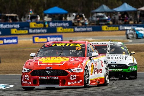 Ipswich Supercars: McLaughlin pips Reynolds in Practice 3