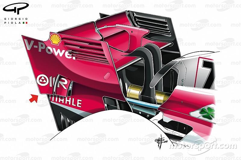 Ferrari het volgende team dat concept McLaren kopieert