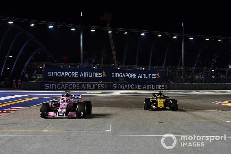 Sainz : Renault doit être