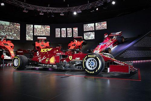 Ferrari met une de ses F1 aux enchères
