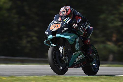 Quartararo lidera 1-2 da Petronas na sexta-feira da MotoGP na República Tcheca