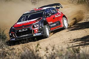WRC News Sebastien Loeb: Trotz Citroen-WRC-Test auf Schotter nichts entschieden