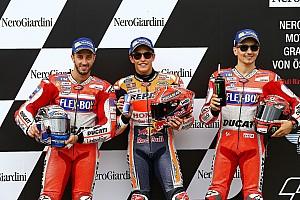 MotoGP Crónica de Clasificación La parrilla de salida del GP de Austria