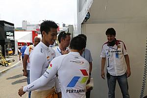 Formula 1 Breaking news Sean Gelael komentari dukungan Pertamina terhadap Rio Haryanto di F1