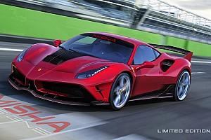 Automotive Nieuws Misha Design bouwt Ferrari 488 GTB om naar baby-FXX K
