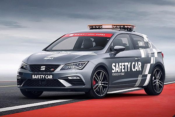 WSBK Noticias de última hora El SEAT Leon CUPRA, nuevo 'safety car' del WorldSBK