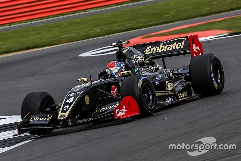 Pietro Fittipaldi se estrena en la 3.5 con pole
