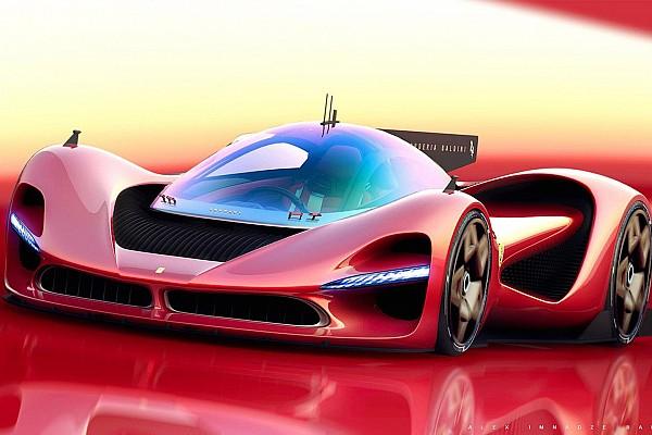 Автомобілі Важливі новини Рендер Ferrari P3 може стати конкурентом Aston Martin Valkyrie