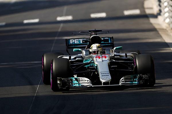 F1 速報ニュース 【F1】ハミルトン「FP2でメルセデスが苦戦した原因はわからない」