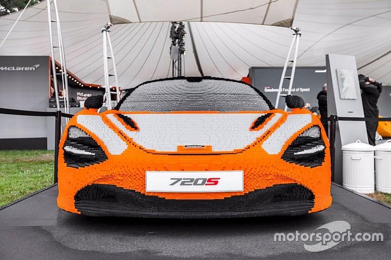 В Гудвуд привезли спорткар McLaren из Lego