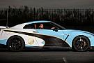 Auto La Nissan GT-R aux couleurs de Manchester City