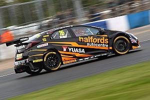BTCC Qualifying report Thruxton BTCC: Neal takes pole as Honda dominates