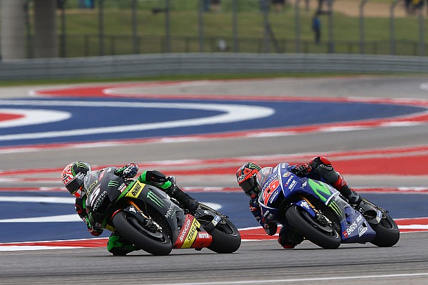 Zarco over contact Rossi: