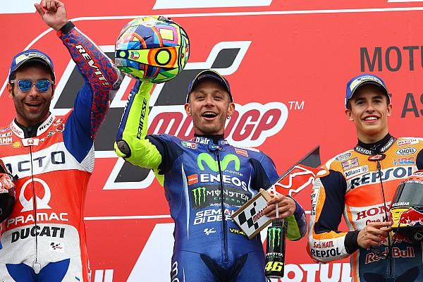 MotoGP Reporte de la carrera Valentino Rossi imparte cátedra y se impone en Assen