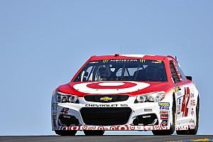 NASCAR Sprint Cup Crónica de entrenamientos Larson el mejor en la práctica de Sonoma; Daniel Suárez en 20