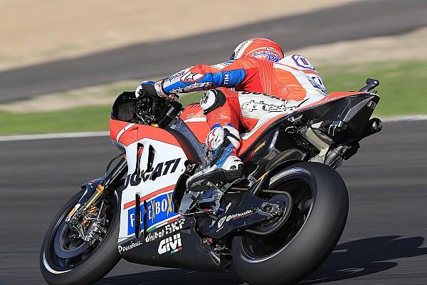 MotoGP Test raporu Jerez MotoGP testinin ikinci gününü Dovizioso ilk sırada tamamladı