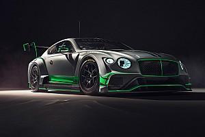 Bentley présente sa nouvelle Continental GT3
