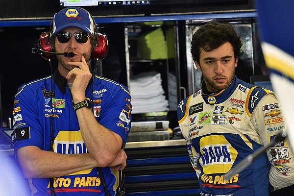 NASCAR Sprint Cup Chase Elliott admite que tiene mucho por mejorar