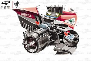 Formula 1 Analisi Analisi Ferrari: il nuovo bracket non migliora la meccanica, solo l'aero