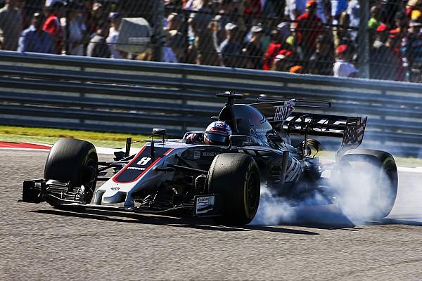 Formel 1 Haas: Boxenfunk-Maulkorb für Romain Grosjean in der Formel 1