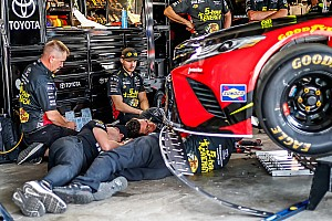 NASCAR Cup Practice report Dover Cup practice mired by inspection delays; Menard fastest
