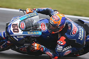 World Superbike Race report Donington WSBK: Van der Mark holds off Rea for maiden win