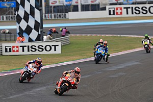 MotoGP Breaking news Marquez threw away