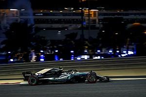 Formel 1 Reaktion Nur zweite Kraft in Bahrain: Mercedes muss Ferrari Vortritt lassen