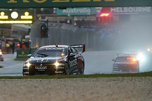 Supercars Race report Albert Park Supercars: Pye holds off Whincup in wet thriller