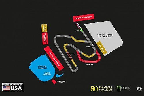 COTA reveals new rallycross circuit layout