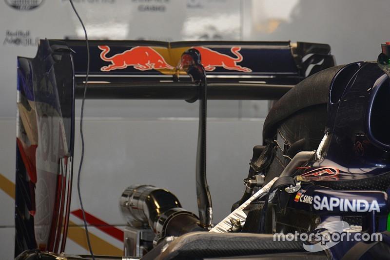 Технический брифинг: заднее крыло Toro Rosso STR11