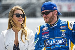 NASCAR Cup Breaking news Dale Jr.'s wife: