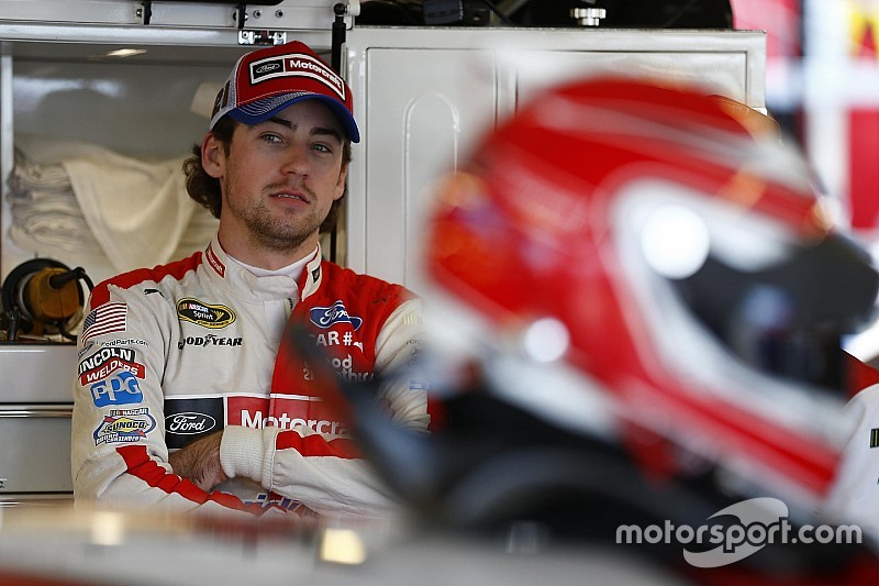 Ryan Blaney fastest in Saturday morning Cup practice