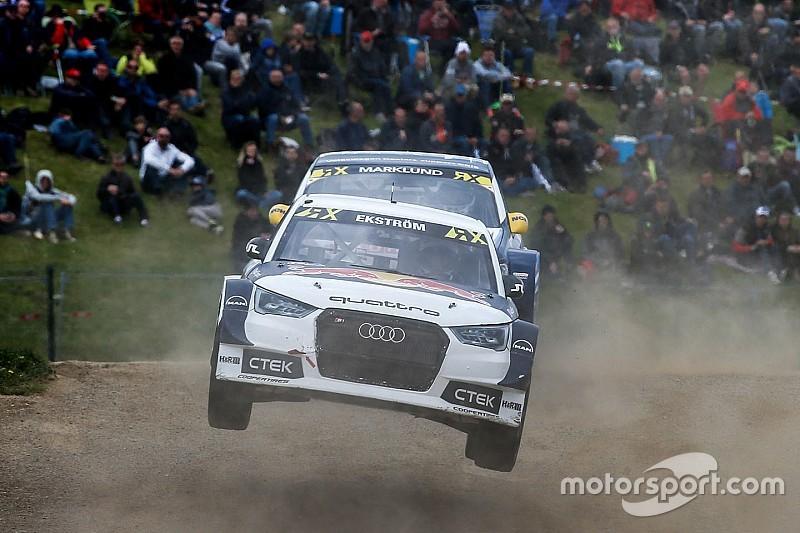 Belçika WRX: Ekstrom kazandı, Loeb ikinci