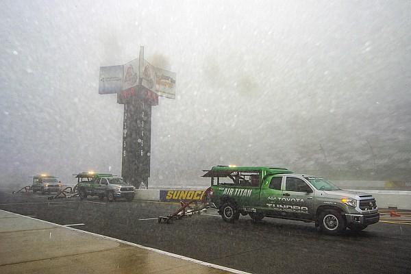 El mal clima obligó a posponer la carrera de NASCAR en Pocono