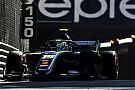 FIA F2 Norris: Qualifying crash
