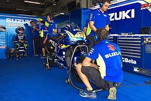 MotoGP Actualités Les pilotes Suzuki élogieux envers leur nouveau carénage