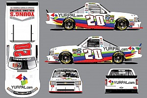 NASCAR Truck Breaking news Max Tullman's NASCAR Truck debut moved up to Chicagoland