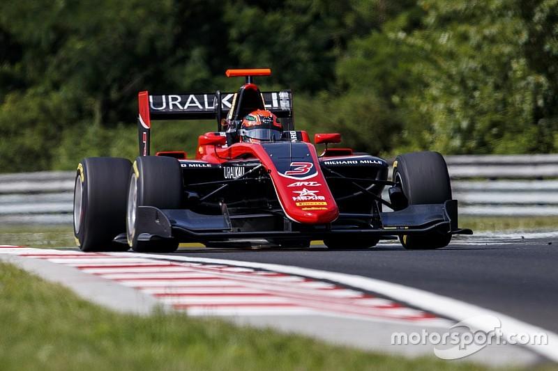 GP3 Hungaroring: Mazepin baskın bir zafer elde etti