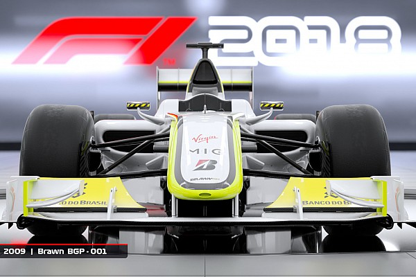 Formula 1 Breaking news Official F1 game to include 2009 Brawn GP car
